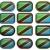doze · botões · bandeira · Tanzânia - foto stock © clearviewstock