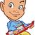 bald keyboard player stock photo © clipartmascots