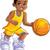 jogar · basquetebol · criança · menino · bat - foto stock © clipartmascots