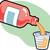 gyógyszeres · üveg · izolált · fehér · egészség · kórház · ipar - stock fotó © clipartmascots