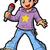 anime manga boy pop star stock photo © clipartmascots