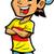 gülen · mutlu · komik · avatar · küçük · kişi - stok fotoğraf © clipartmascots