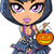 trick or treat goth girl stock photo © clipartmascots