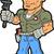 handyman stock photo © clipartmascots