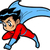 anime manga boy superhero stock photo © clipartmascots