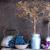 натюрморт · высушите · прерия · цветы · виноград · кухне - Сток-фото © Coffeechocolates