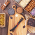 pó · ingredientes · branco · tabela · comida - foto stock © coffeechocolates