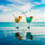 koktél · úszómedence · víz · égbolt · természet · nyár - stock fotó © cookelma