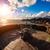 deniz · feneri · kaya · yalıtılmış · beyaz · gökyüzü · ev - stok fotoğraf © cookelma
