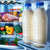 open refrigerator filled with food stock photo © cookelma