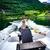 женщину · вождения · красивой · природы · солнце - Сток-фото © cookelma