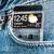 okostelefon · átlátszó · képernyő · zseb · farmer · futurisztikus - stock fotó © cookelma