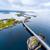 atlantic ocean road aerial photography stock photo © cookelma