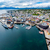 view of a marina in tromso north norway stock photo © cookelma
