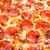 pepperoni · pizza · közelkép · étvágygerjesztő · tömés · keret - stock fotó © cookelma