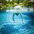 man floats underwater in pool stock photo © cookelma