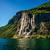 pittoreske · zon · adelaar · rivier · Michigan · waterval - stockfoto © cookelma