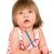 weinig · potlood · witte · papier · meisje - stockfoto © cookelma