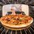 pizza · forno · chef · ver · dentro - foto stock © cookelma