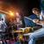 ドラマー · 演奏 · ドラム · セット · ステージ · 本物の - ストックフォト © cookelma
