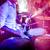 tambor · jogar · tambor · conjunto · etapa · aviso - foto stock © cookelma
