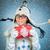 szczęśliwy · niespodzianką · teen · girl · piękna · uśmiech · młodych - zdjęcia stock © cookelma