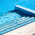 Stairs clear blue swimming pool stock photo © cookelma