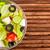 vers · salade · tomaten · komkommer · kerstomaatjes · frambozen - stockfoto © cookelma