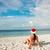 Noel · plaj · cennet · noel · ağacı · güzel · beyaz - stok fotoğraf © cookelma