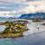 dorp · Noorwegen · bergen · hemel · boom · gebouw - stockfoto © cookelma