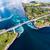 Noorwegen · luchtfoto · mooie · natuur · klein · een - stockfoto © cookelma