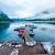 美しい · 湖 · 山 · 夏 · 風景 · スロバキア - ストックフォト © cookelma