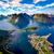 архипелаг · Норвегия · декораций · драматический · гор - Сток-фото © cookelma