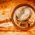 vintage · vergrootglas · oude · wereldkaart · stilleven - stockfoto © cookelma