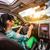 coche · conducción · carretera · ilustración · vacío - foto stock © cookelma