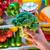 paradicsom · húsgombócok · parmezán · brokkoli · étel · étel - stock fotó © cookelma