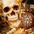 vintage · pirata · bússola · antigo · mapa · retro - foto stock © cookelma