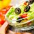 fresche · insalata · pomodori · cetriolo · pomodorini · lamponi - foto d'archivio © cookelma