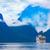 seyir · bakıyor · içinde · norveç · gökyüzü · deniz - stok fotoğraf © cookelma