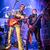 zenekar · színpad · rockzene · koncert · figyelmeztetés · autentikus - stock fotó © cookelma