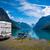 famiglia · vacanze · viaggio · vacanze · viaggio · caravan - foto d'archivio © cookelma