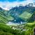 Norvegia · bella · natura · panorama · lungo · ramo - foto d'archivio © cookelma