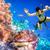 Maldive · indian · Ocean · diving · cervello - foto d'archivio © cookelma