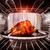 geroosterde · kip · oven · binnenkant · koken · dankzegging - stockfoto © cookelma