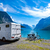 family vacation travel holiday trip in motorhome stock photo © cookelma