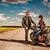 paar · liefde · man · fiets · portret - stockfoto © cookelma