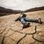 secas · solo · rachado · terra · fundo · deserto - foto stock © cookelma