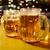 большой · кренделек · стекла · пива · продовольствие - Сток-фото © cookelma