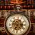 antigo · relógio · de · bolso · hora · oficina · prata · tempo - foto stock © cookelma