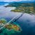 colina · vista · puente · parásito · danubio · río - foto stock © cookelma